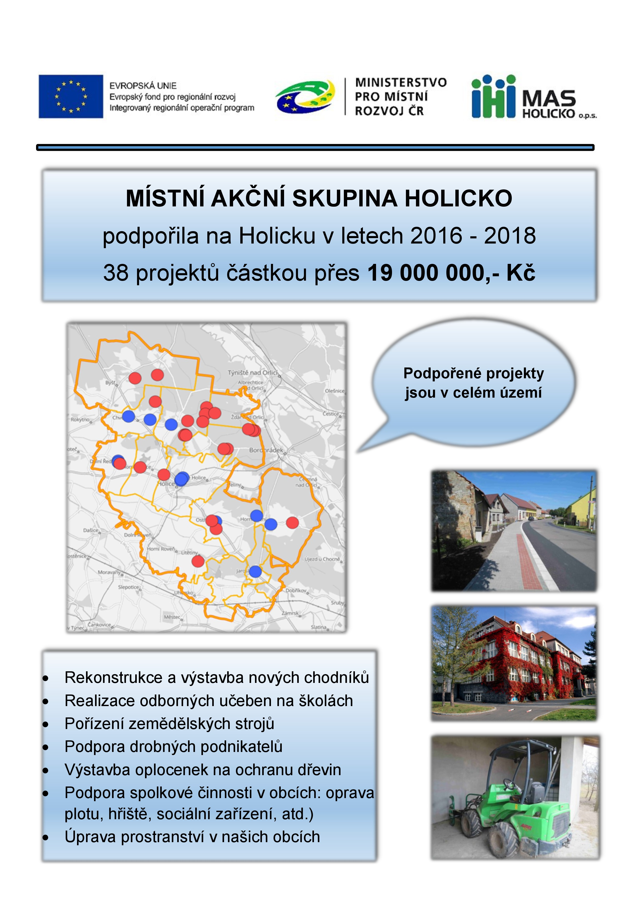 MAS Holicko - leták